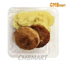 Chicken cutlets with mashed potatoes 430g