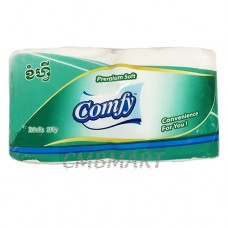 Comfy Roll Tissue 2 roll 3 ply 1 pack