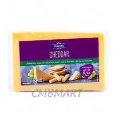 Cheese Cheddar Emborg. 250 g