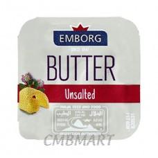 Portion Butter Unsalted Emborg 8 gr. Min 5 pcs