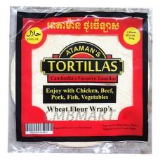 Tortillas Ataman's diameter 29 cm Halal.