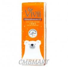 VIVII Pure Cotton Pads 100 pcs 1 pack