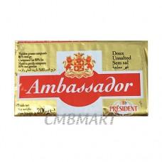 Ambassador Unsalted butter 200 gr