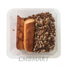 Buckwheat with fried smoked sausage for Hotdogs 7 ', Eurola