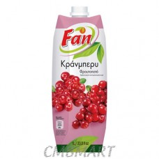 Juice Cranberry. Fun. 1l