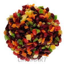 Dried Mixed Fruit 0.1 kg