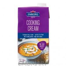 Emborg Cooking Cream 20% Fat 1 Lt