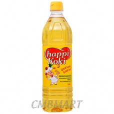 "Vegetable oil. ""Happy Koki"". 1l"