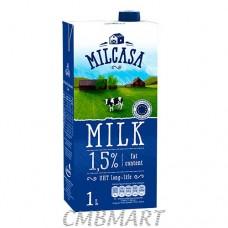 Milk Milcasa. 1.5%. 1 liter
