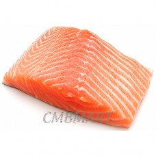 Frozen Salmon fillet.