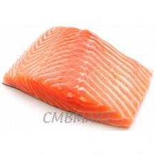Frozen Salmon fillet.