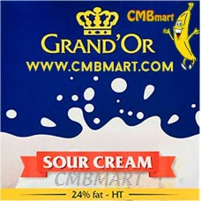 Grand'or Sour Cream 24% Fat 250g