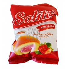 Solite Muffin with Strawberry Cream Flavor 20g