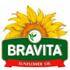 Bravita Sunflower oil, draft. 0,45 Lt