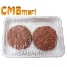 Beef patties 160g. Frozen. (2pcs)