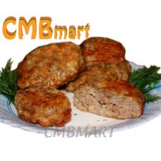 Beef patties 150g. Fried. Frozen. (2pcs)