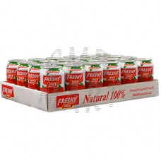 Freshy Apple Juice can 330 ml 24 cans