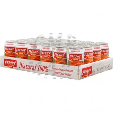 Freshy Orange Juice can 330 ml 24 cans