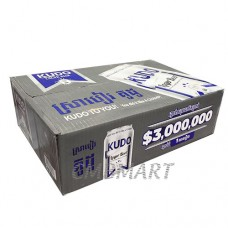 """KUDO"" beer can 330 ml 1 box 24 cans"