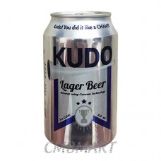 """KUDO"" beer can 330 ml"