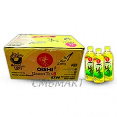 Oishi Green tea Honey-Lemonl 500 ml box 24 bottles