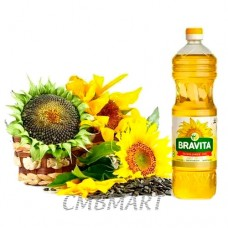 Bravita Sunflower oil, 2 Lt