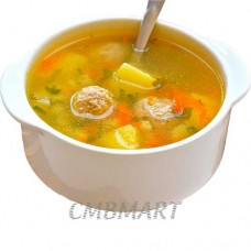 Soup with meatballs 450 ml