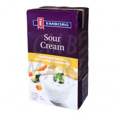 Emborg Sour Cream 24% Fat 1 Lt