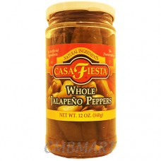 Mezzetta, Whole Jalapeno Peppers pickle. 340g