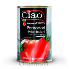 Ciao Whole Peeled Tomatoes 400g