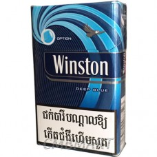 WINSTON Deep blue Cigarettes